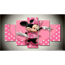 New 6 styles 5 spell diamond painting new Mickey Mouse embroidery cartoon Minnie stickers room decoration kids gifts