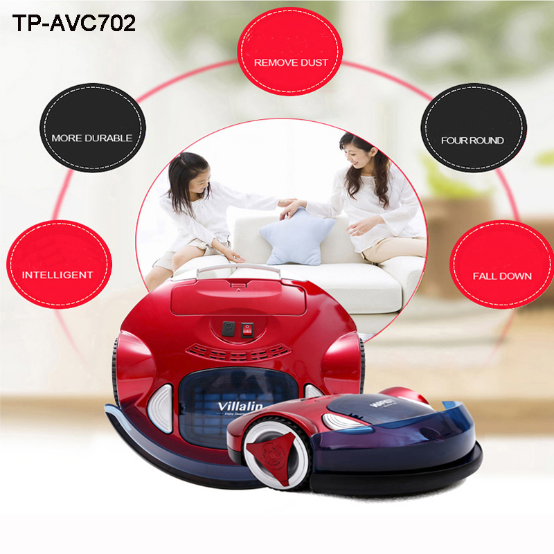 Automatic vacuum cleaner Household Cleaning Drag suction sweep Smart sweeping robot TP-AVC702 v bot gvr610d intelligent sweeping robot vacuum cleaner home sweep suction automatic wifi wireless one machine