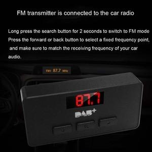 Image 5 - JINSERTA Mini DAB/DAB + راديو FM موالف استقبال عصا مع LED عرض الصوت الرقمي البث 3.5 مللي متر AUX واجهة