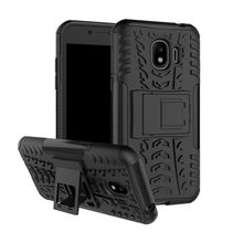 цена на Heavy Duty Armor Shockproof Stand Case For Samsung Galaxy S9 / S9 Plus S9plus S9+ G960F G960 SM-G960F G965F Silicone back Cover