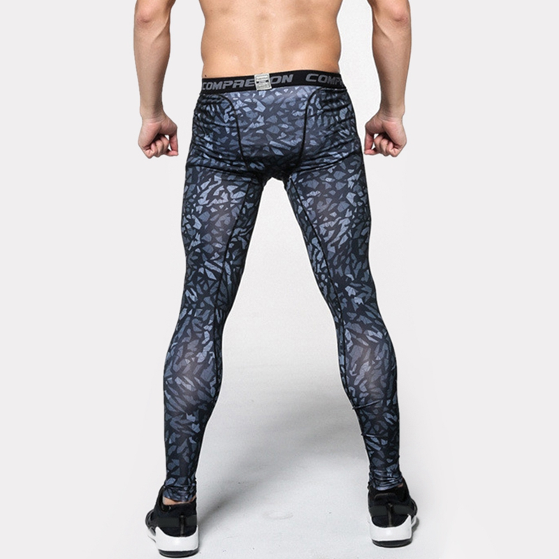 c5e353c5e6e53 Mens Compression Pants 2017 New Crossfit Tights Men Bodybuilding Pants  Trousers Camouflage Joggers running fitting Cycling Yoga-in Running Pants  from Sports ...