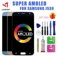 J530 Super AMOLED pantalla LCD para Samsung Galaxy J5 DE 2017 Pro J530 J530F J530FM pantalla LCD de montaje de digitalizador con pantalla táctil piezas del Panel