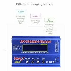 Image 5 - IMIMAX B6 Multi function RC Nimh Nicd lithium Battery Balance Lipo Battery Charger Balance Discharger with Digital LCD Screen