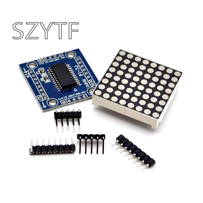 8x8LED dot matrix module MAX7219 display module DIY module MCU control module 5pcs