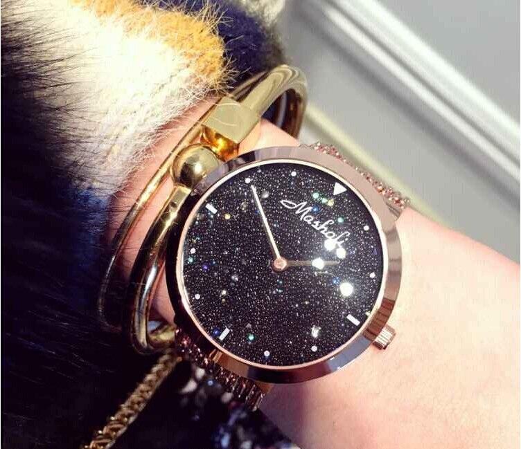 2019 Hot Sale Women Watch!Luxury  Fashion Crystal Women Bracelet Watch Female Diamond Dress Watch Ladies Rhinestone Wristwatches Islamabad