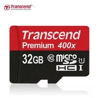 Original SDXC 60MB S Transcend Micro SD Card SDHC Class10 UHS I UHS 1 400X Memory