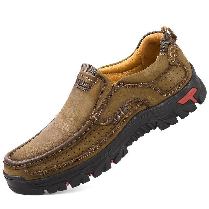 Босоножки mvvt 100% натуральная кожа обувь мужская, из бычьей кожи повседневные Уличная обувь для мужчин Высокое качество мужские туфли на плоской подошве 2 стиля на шнуровке мужская обувь