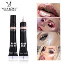 цены MISS ROSE 8 color honey liquid foundation single color box cosmetics with high gloss liquid