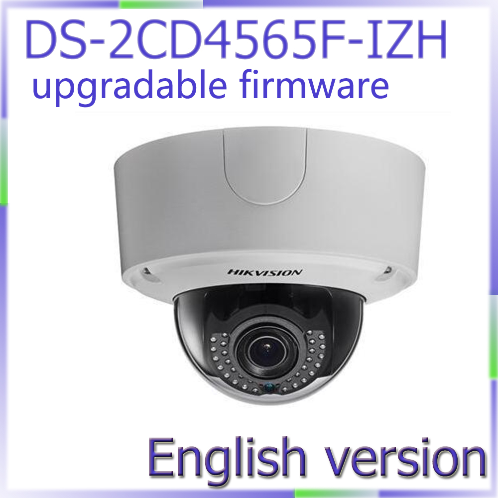 Free shipping English Version DS-2CD4565F-IZ 6MP Smart IP Outdoor Dome Camera network IP camera with heater cd диск fleetwood mac rumours 2 cd