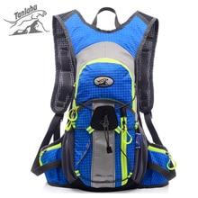 TANLUHU 15L Outdoor Reflective Backpack for Bicycle Women Men Waterproof Nylon Mountain Bike Sports Climbing Rucksack XA553YL
