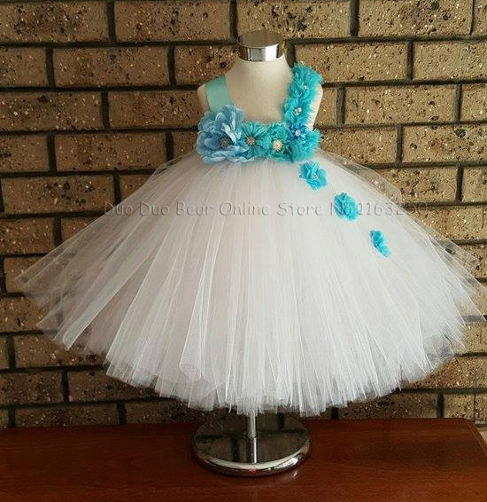 High Quality Baby Flower Girl Dresses For Weddings 1st Birthday ...