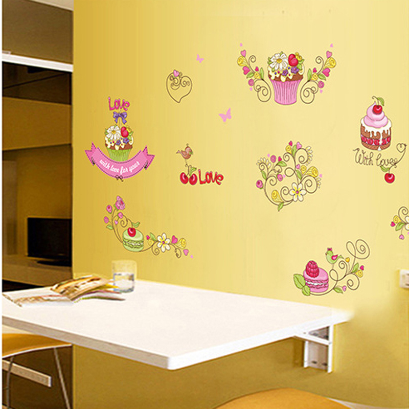 Amazing Cupcake Canvas Wall Art Composition - Art & Wall Decor ...
