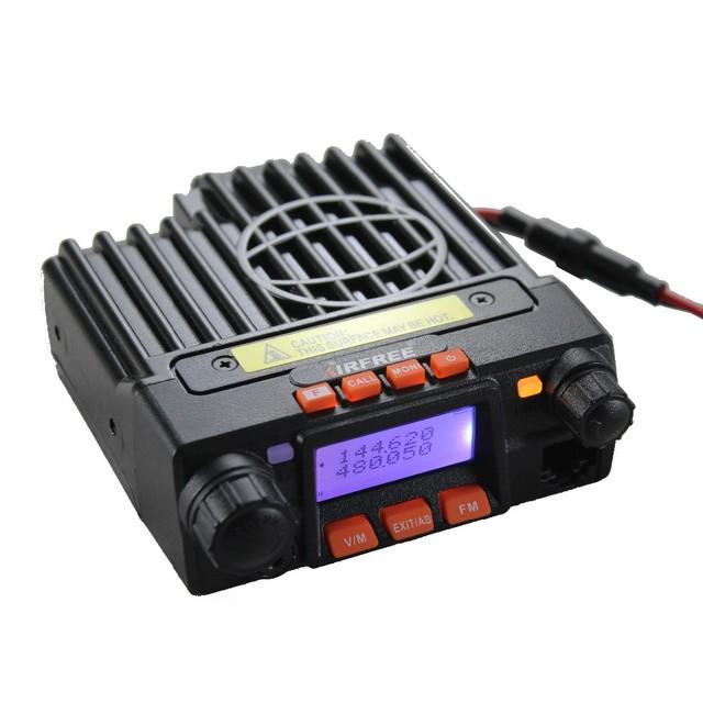Qyt kt-8900 mini-9800 de atualização de rádio móvel 25 w longa distância mini veículo montado 2 way radio walkie talkie