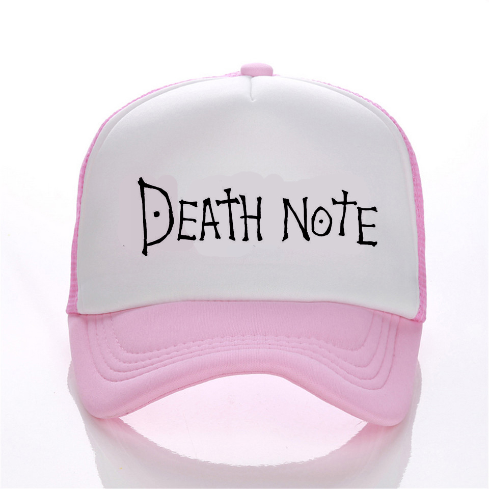 Death Note baseball caps