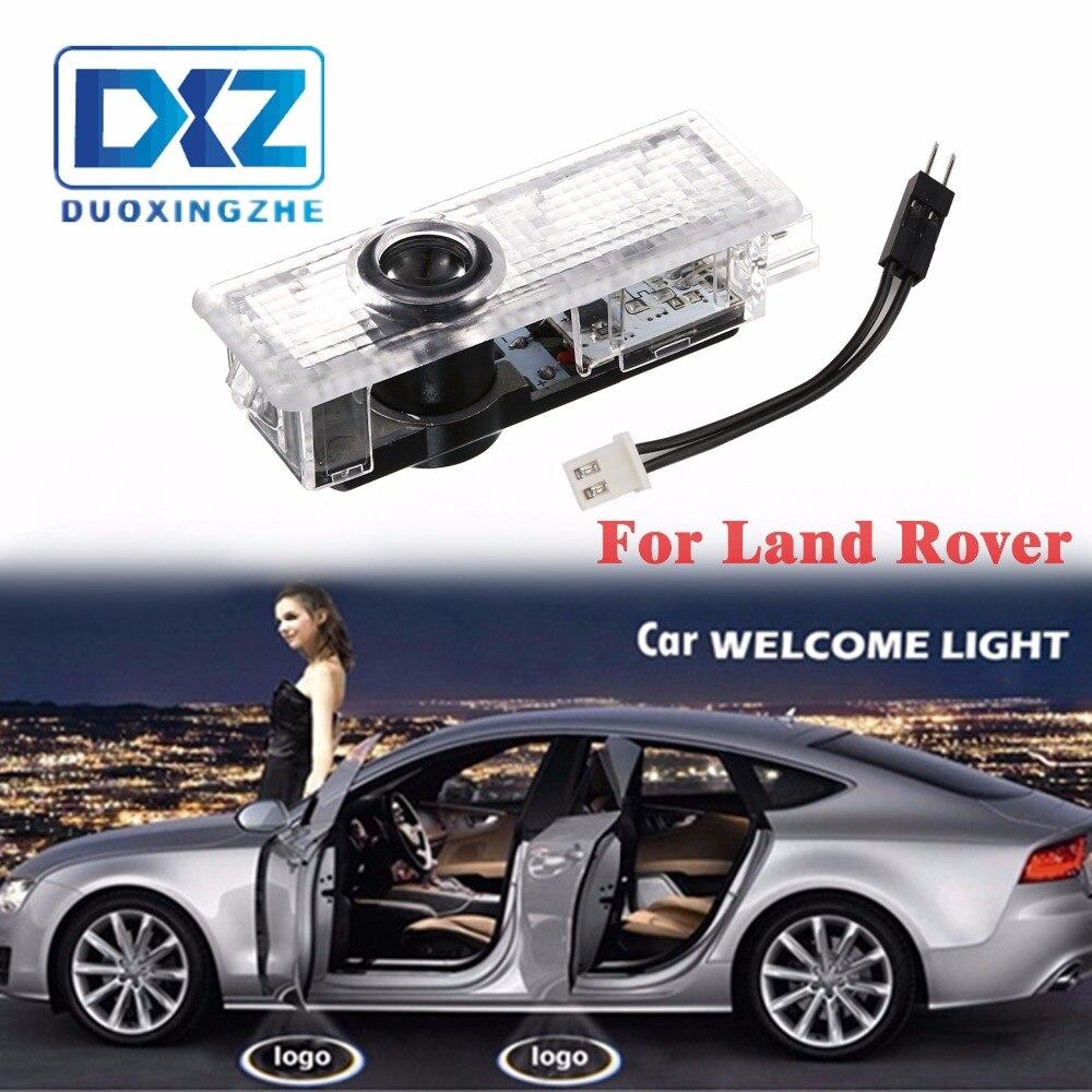 DXZ 2 шт. светодиодный двери автомобиля Добро пожаловать лазерный проектор логотип свет для Land Rover freelander 2 Discovery 4 Evoque Range rover