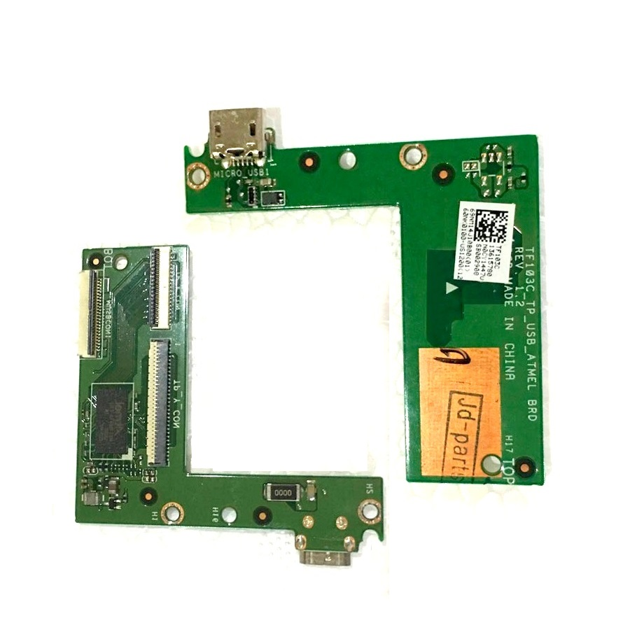 USB charger&Touch panel board For ASUS Transformer Pad TF103C K010 charging usb board Replacement Repair TF103C_TP_USB_ATMEL BRD x556u usb board for asus x556u x556uj x556ujq x556ub x556ua x555uv laptop dedicated rev 2 0 usb io board tested well