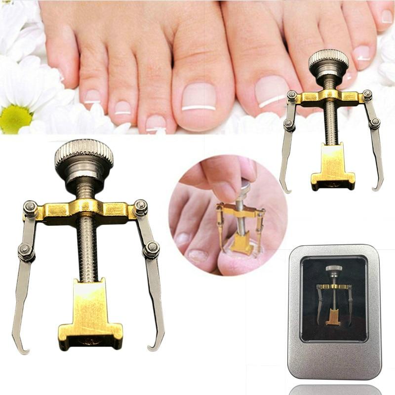 Ingrown Toe Nail Pedicure Foot Care Tool Corrector Professional Paronychia Chiropody Podiatry Repair Nail Treatment Tools joelheira magnética alívio