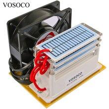 Портативный Озон 18 Гц/ч 220 В генератор озона машина с вентилятором долгий срок службы озонатор воды воздуха стерилизовать очиститель лечения