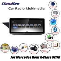 Liandlee For Mercedes Benz A Class W176 2012 Android Car Radio Player GPS Navi Navigation Maps