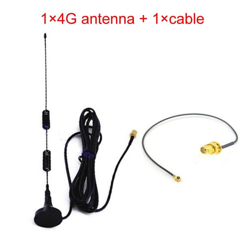 4g 5dbi LTE Antenne 3g 4g lte Aérienne 698-960/1700-2700 mhz magnétique base RF SMA RG174 3 m + 15 cm SMA femelle à IPX 1.13 câble