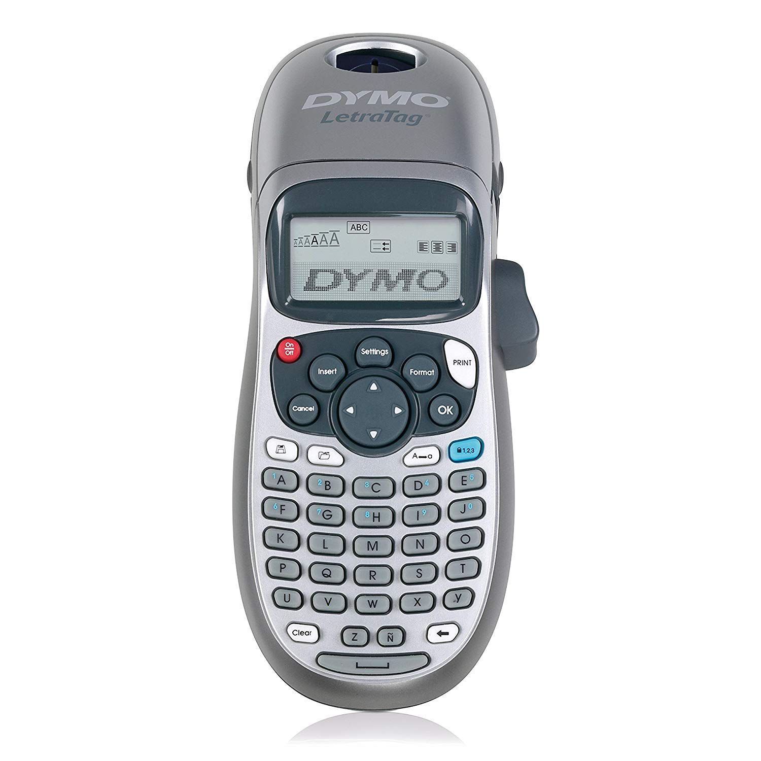 DYMO Handheld Label Maker with 2 Line Printing and 3 Language Option for LT Series Label Tapes 6