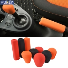For Benz Smart Fortwo 07-17 Silicone Car Gear Knob Cover Shift Gear He