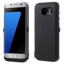 Для Samsung Galaxy S7 крайний Случай 6800 мАч Зарядное Устройство Power чехол для Samsung Galaxy S7 край G935 Крышка Power Bank Kickstand