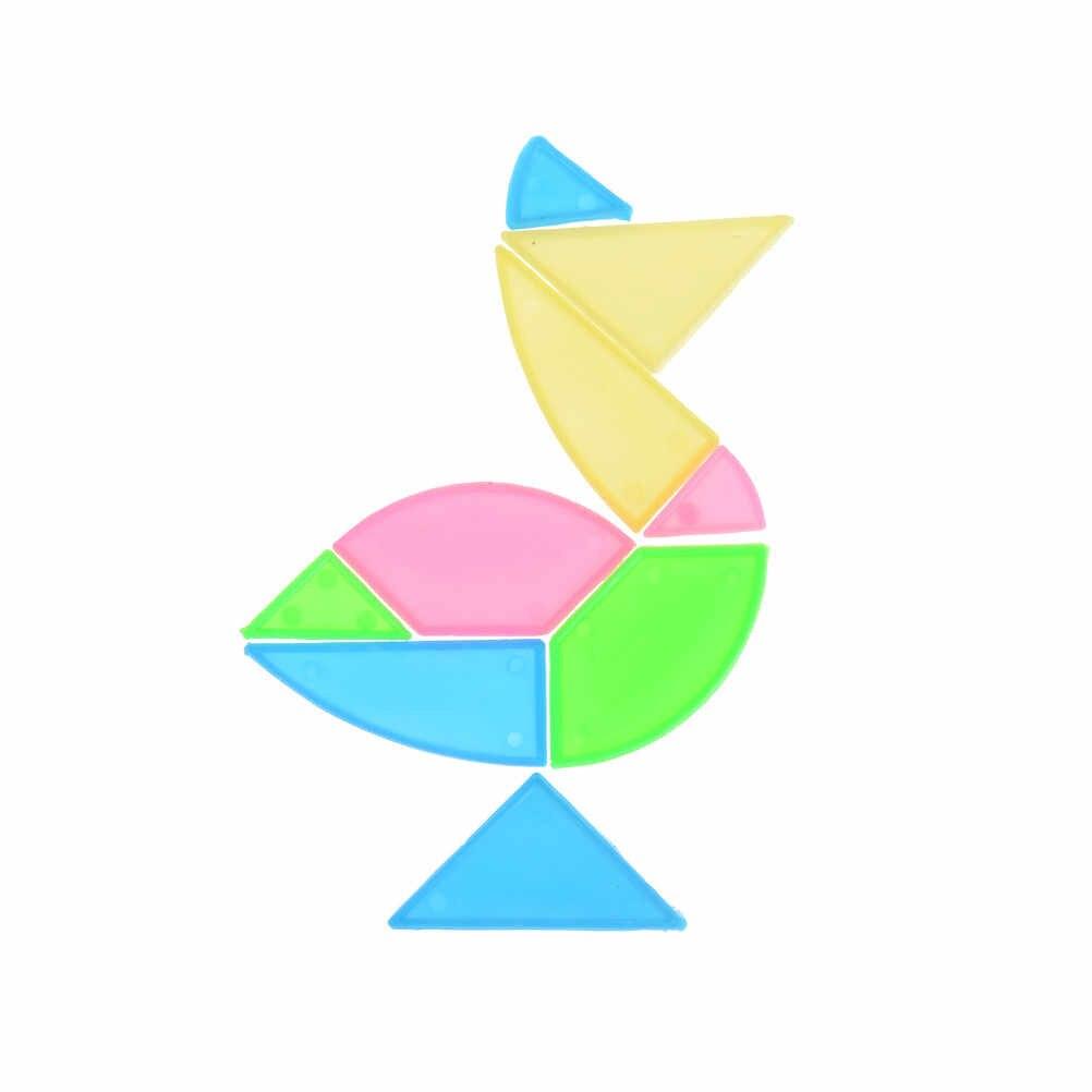 للأطفال الدماغ خشبية 3d لغز تنغرم دعابة تتريس هندسية شكل بانوراما لعبة التعلم التعليم لغز لعب