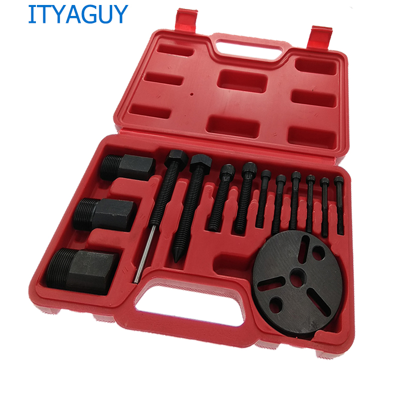 Air Conditioning Tools >> Us 29 36 9 Off Foldable Design Air Conditioning Tools A C Compressor Clutch Puller Kit R134 Ar12 Compressor Clutch Sucker Puller Repair Tools In