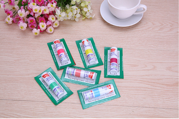 1pc Thailand Nasal Inhaler Poy sian Mark 2 Herbal Nasal Inhaler Poy Sian Stick Mint Cylinder Oil Brancing Breezy Asthma 1