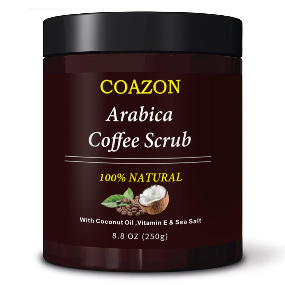 250g Coffee Scrub Body Scrub Cream Facial Dead Sea Salt For Exfoliating Whitening Moisturizing Anti Cellulite Treatment Acne 5