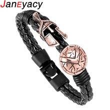 Спартанский шлем женский браслет модные взрывные ювелирные изделия Ретро мужской браслет женский отважный рыцарский браслет подарок предпочтительный
