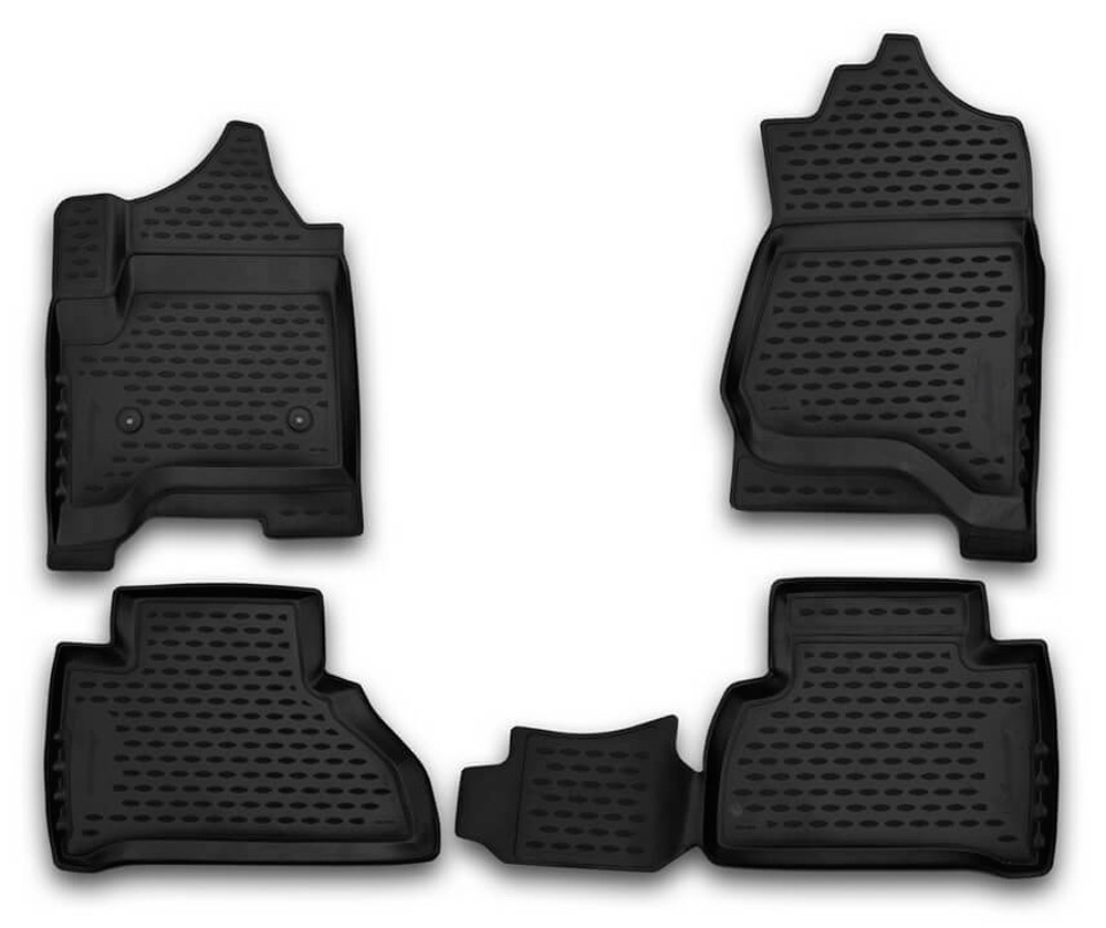 Floor mats case for Chevrolet Tahoe 2015- 5 pcs rubber rugs non slip rubber interior car styling accessories