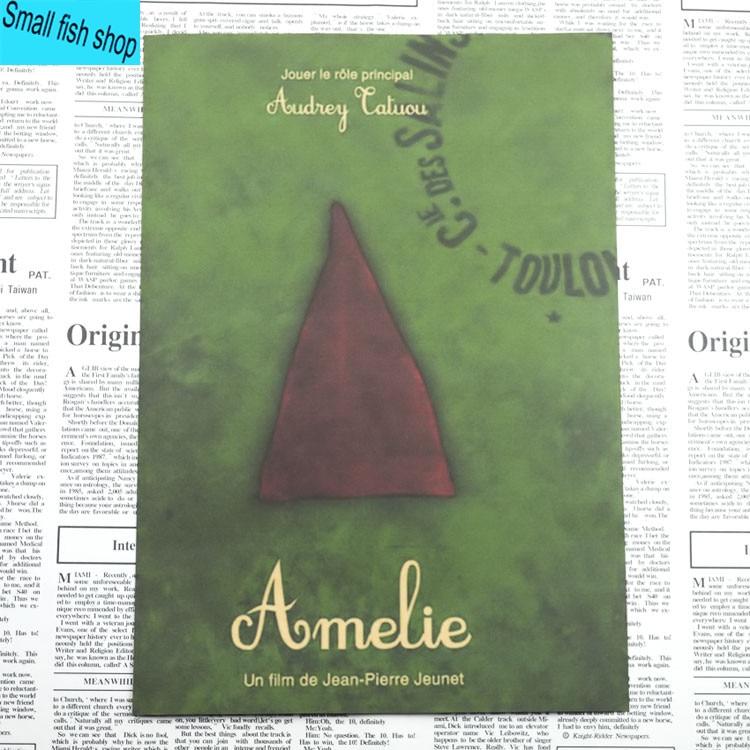 Amelie Audrey Tautou Francuska romantyczna literatura Wyposażenie - Wystrój domu - Zdjęcie 3