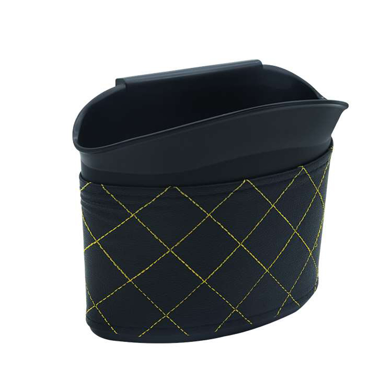 E-FOUR Car Trash ABS Tenacity Plastic Green Material Seat Back Mercedes Umbrella Rubbish Bag Waterproof Recycling
