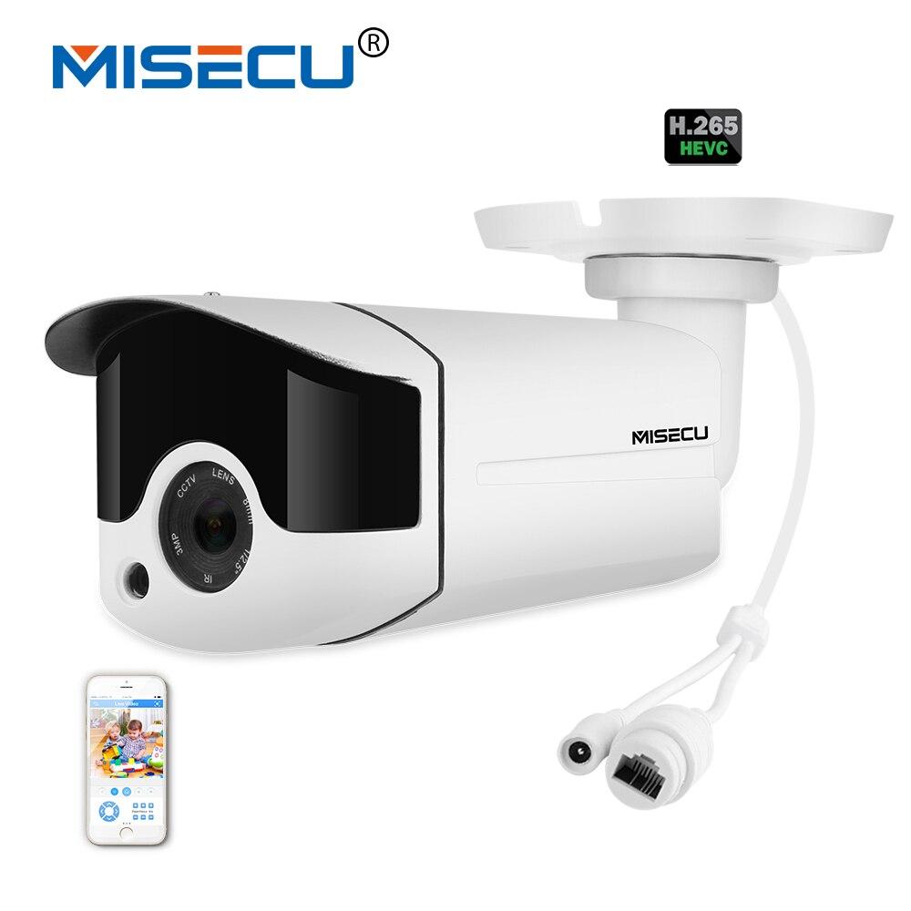 MISECU H.265/H.264 4.0MP Motorized Zoom 48V POE WDR IP Cam 2.0MP Array Night IR Motion Detect RTSP Waterproof Surveillance CCTV