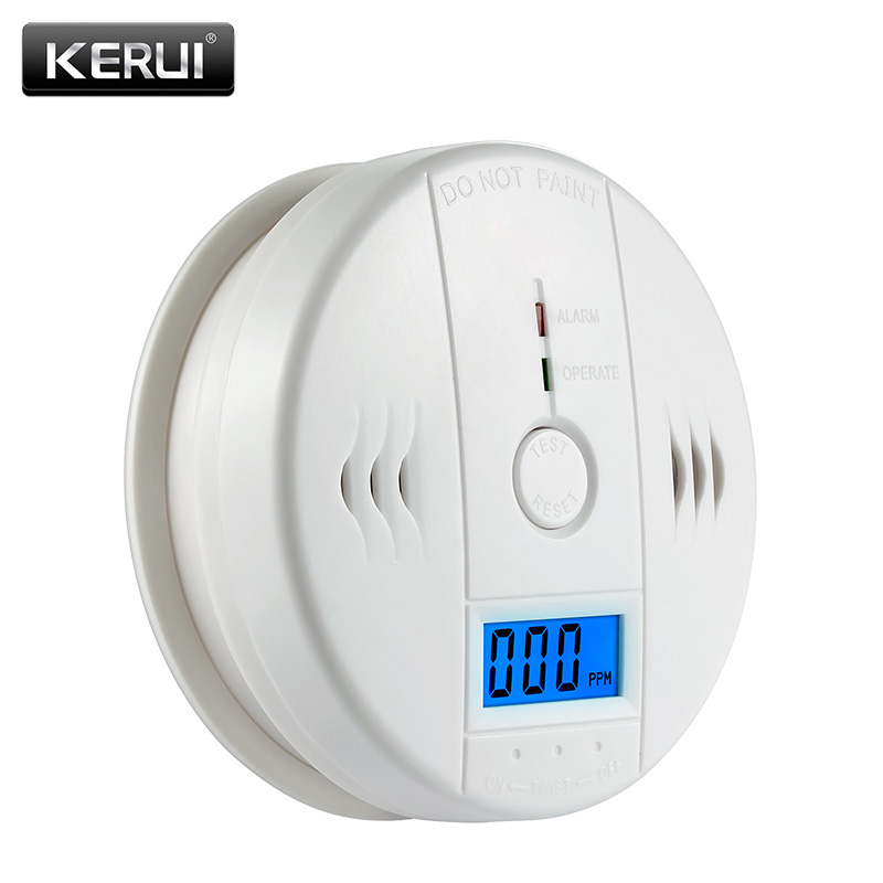 LCD Photoelectric Carbon Monoxide Home Security Protection 85dB Warning High Sensitive Independent CO Gas Sensor Detector Alarm sensitive lcd digital backlight security 85db carbon monoxide co gas detector tester sensor alarm for home office