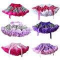 Falda de Polca Do Bebê Meninas Fofo Pettiskirts Tutu Princesa Saias Partido de Dança Ballet Desgaste 1-10 t Frete Grátis