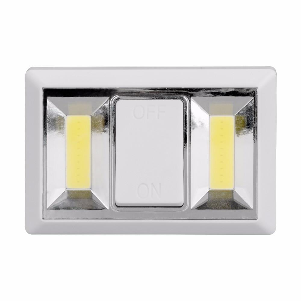 Magnetic LED Night Light Ultra Bright Mini 2 COB Wireless