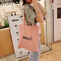 Wholesale Canvas Handbags Women Shoulder Bags Letter Ladies Hand Bags Shopper Bag Business Express Free Shipping 20 pcs