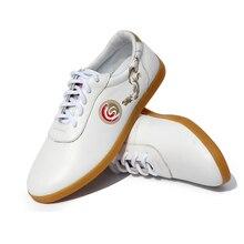Genuine Leather Cowhide Chinese wushu shoes taichi shoes taolu kungfu taiji Shoes for men women kids boy girl children adults