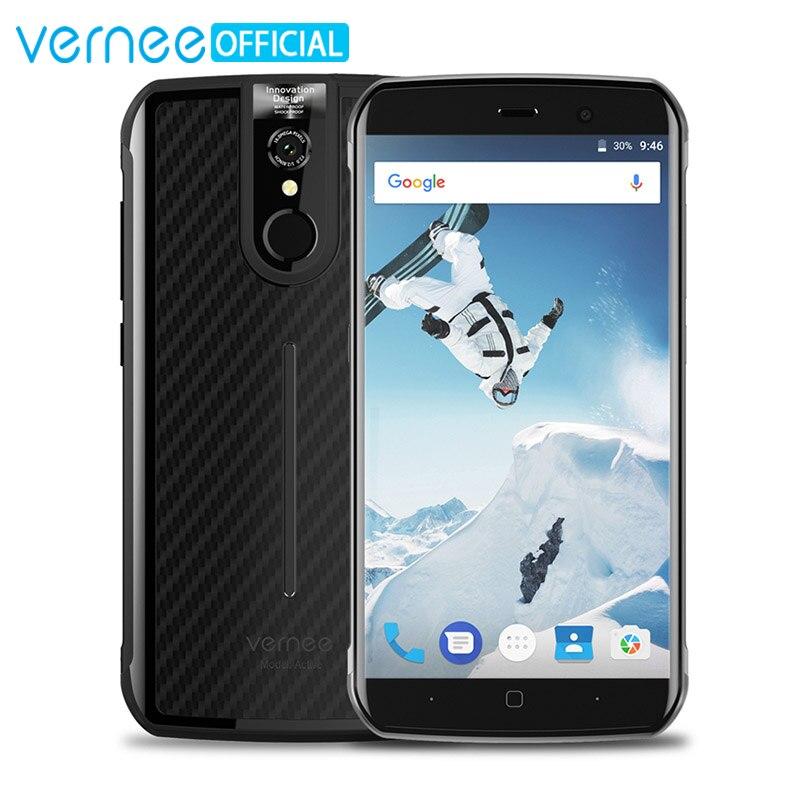 Vernee Active 6 ГБ Оперативная память 128 ГБ Встроенная память Водонепроницаемый IP68 Мобильный телефон 5.5 дюймов fhd helio P25 Octa core <font><b>android</b></font> 7.0 открытый телефо&#8230;