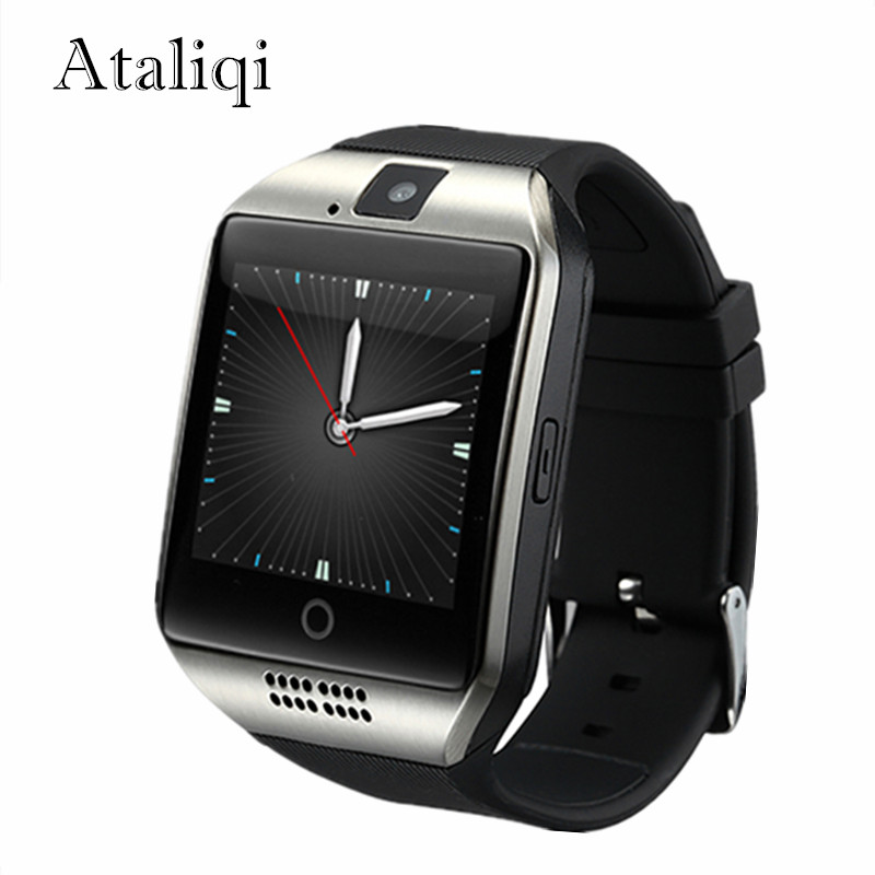 Ataliqi Q18 Smart Watch Men Support TF Sim Card Push Message Answer Call Fitness Tracker Bluetooth Smartwatch for Android Phone цены онлайн