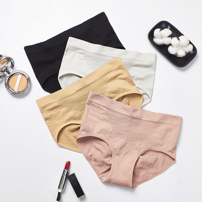 Women Underwear Women Shapers High Waist Panties Postpartum Slimming Tummy Control Underwear Lady Physiological Pants 4Pc