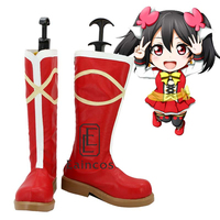 Anime LoveLive School Idol Project Sunny Day Song Yazawa Nico Boots Cosplay Christmas Party Shoes Custom