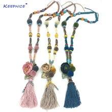 Новые богемные украшения ручной работы ожерелье с подвеской