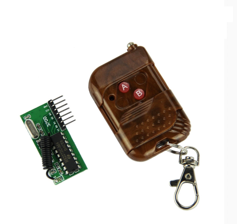 Access the remote control Electronic door remote control switch