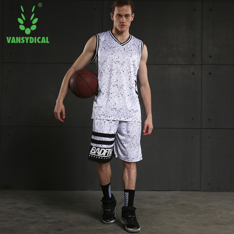 Sports & Entertainment Disciplined 2018 Mens V-neck Sportswear Running Sports Sets Basketball Workout Gym Summer Shirts Quick Dry Shorts/2pc