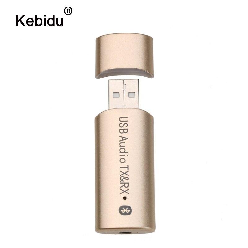 Kebidu 2 In 1 Wireless Bluetooth 4,2 Transmiter Adapter Sender Empfänger Audio Stereo 3,5mm Usb Sender Für Pc Computer Tv Unterhaltungselektronik Tragbares Audio & Video