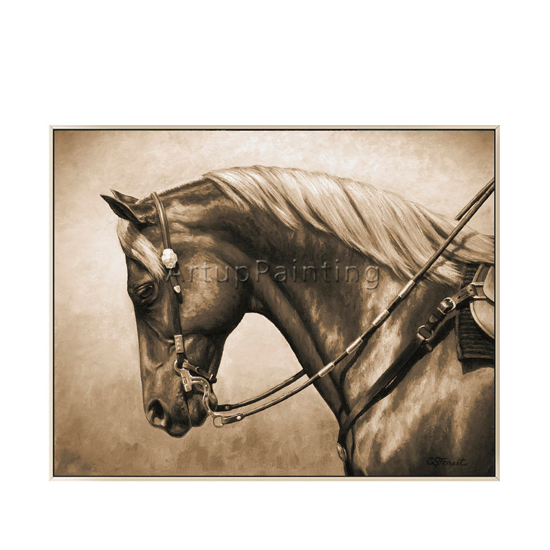 Pintura da lona Acrílica pintura Animal caudros